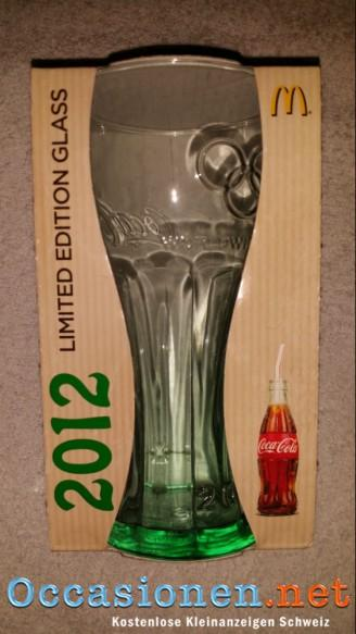 mcdonalds coca cola glas 2012 gr n neu ovp limited edition occasionen schweiz. Black Bedroom Furniture Sets. Home Design Ideas